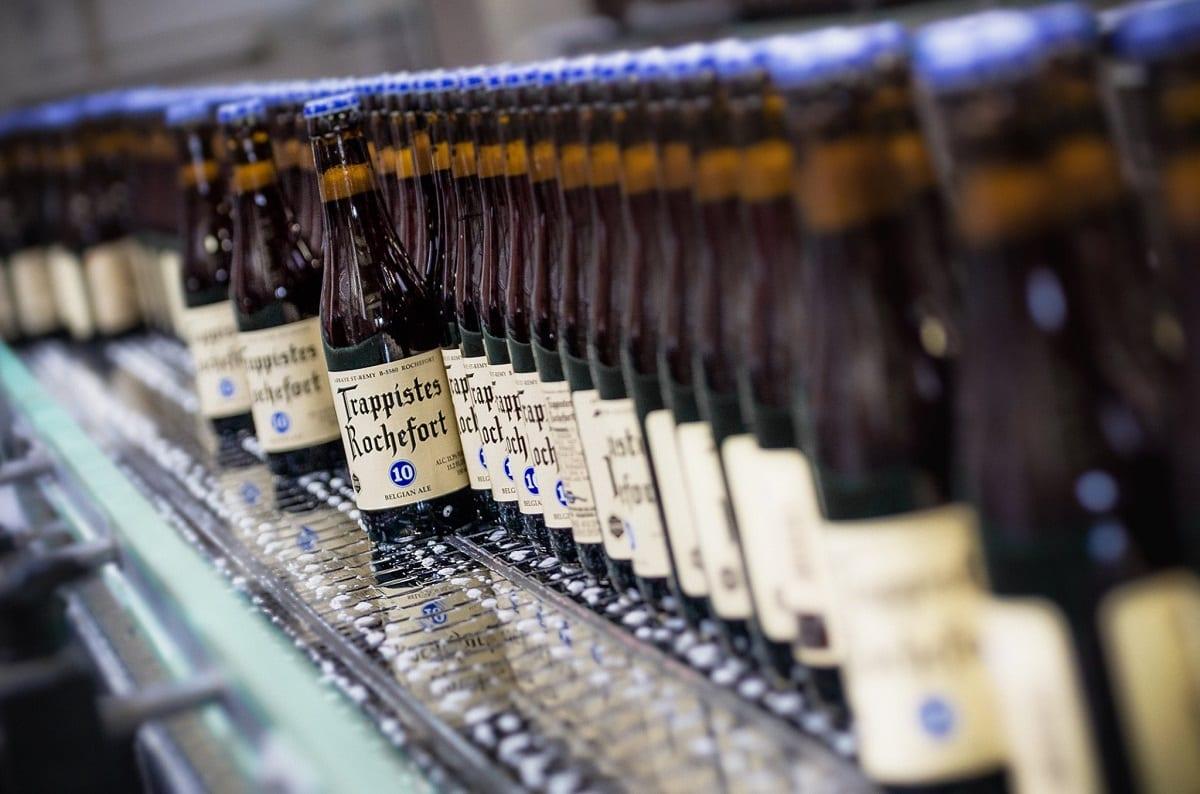 Bottiglie di birra Rochefort