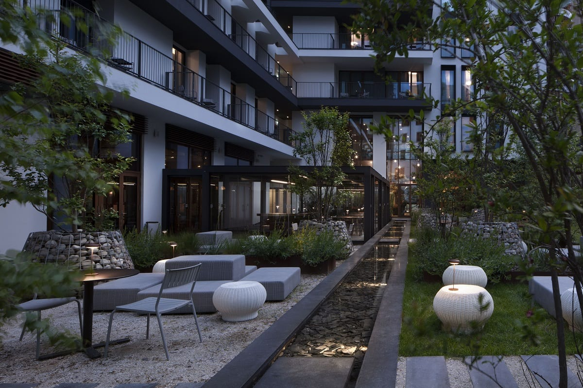 L'urban garden bar di Milano Verticale