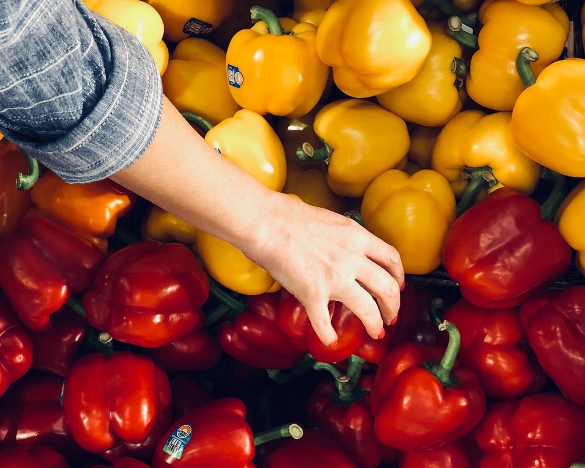 Peperoni al supermercato