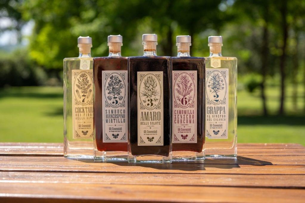 Val Sillaro villaggio salute+ liquori