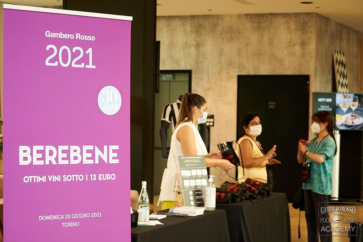 Berebene 2021 del Gambero Rosso. Le foto dell'evento degustazione a Torino