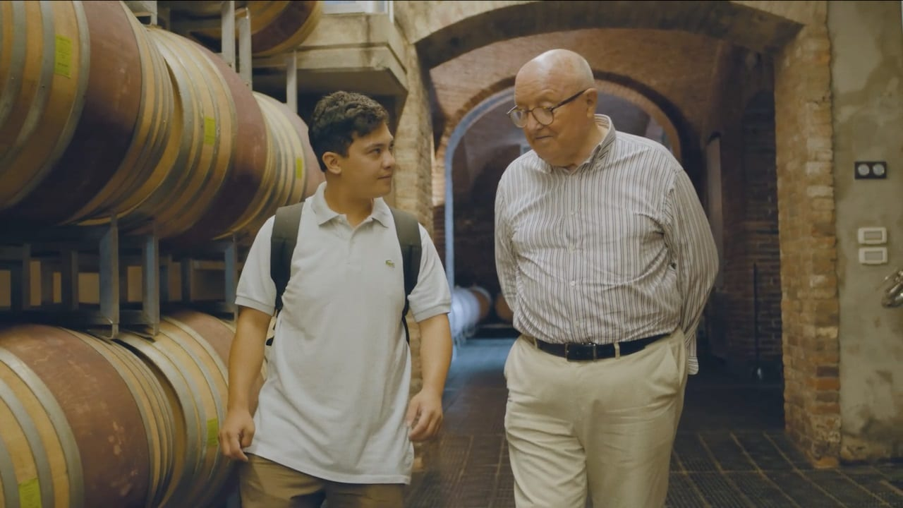 Bruno Ceretto con Aaron Biondo