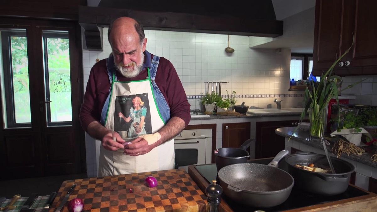 Giorgione in cucina