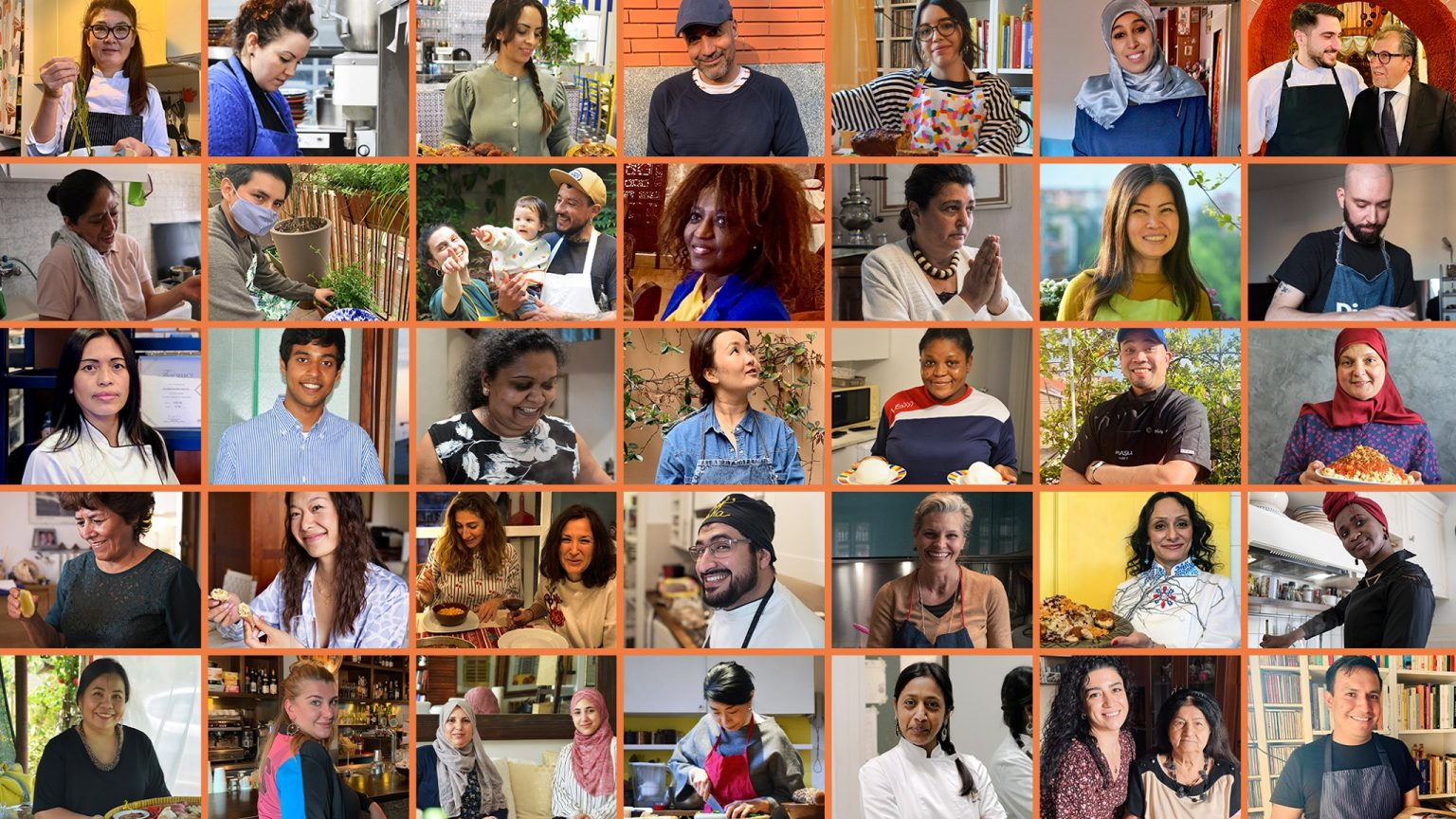 i volti del Lab di antropologia del cibo