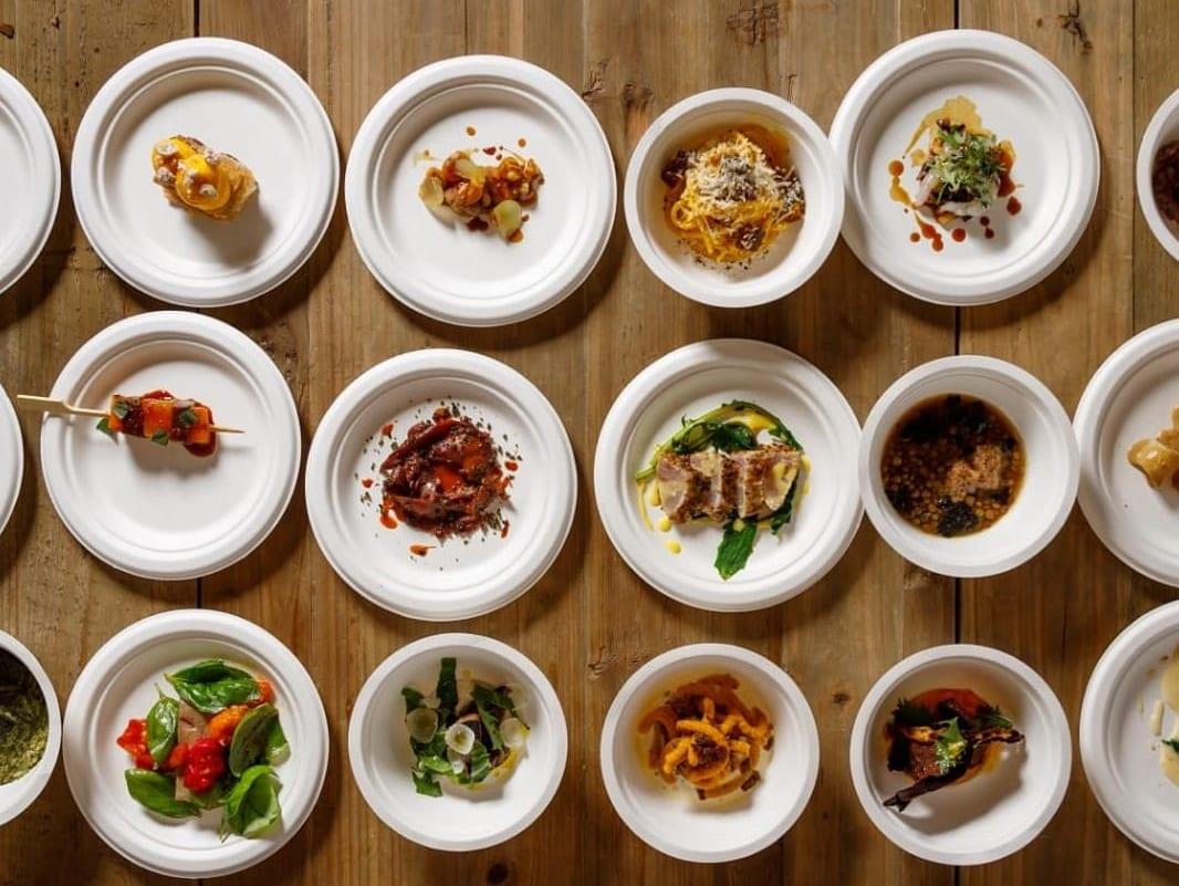 I piatti improvvisati dagli chef a Spessore
