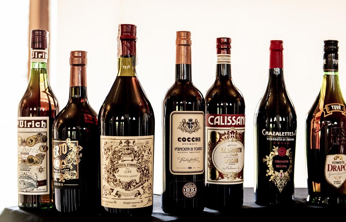 Bottiglie di Vermouth