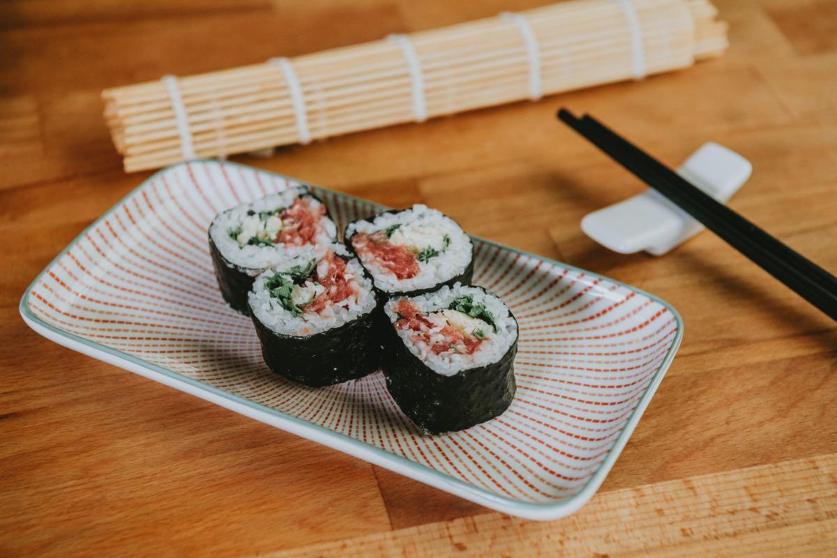 L'idea golosa. A Torino il kit per il sushi fai da te di chef Domenico Volgare
