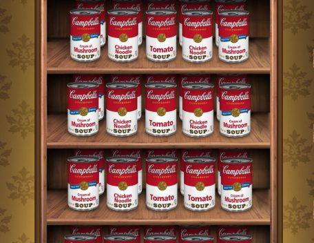 Scopri il nuovo logo della Campbell's Soup