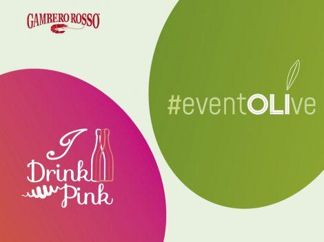 I Drink Pink - eventOLIve 2021. I migliori rosati e i migliori oli d'Italia tutti in una degustazione