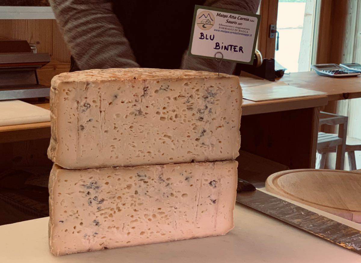 Malga Alta Carnia Sauris - Blu Binter - Erborinato Naturale