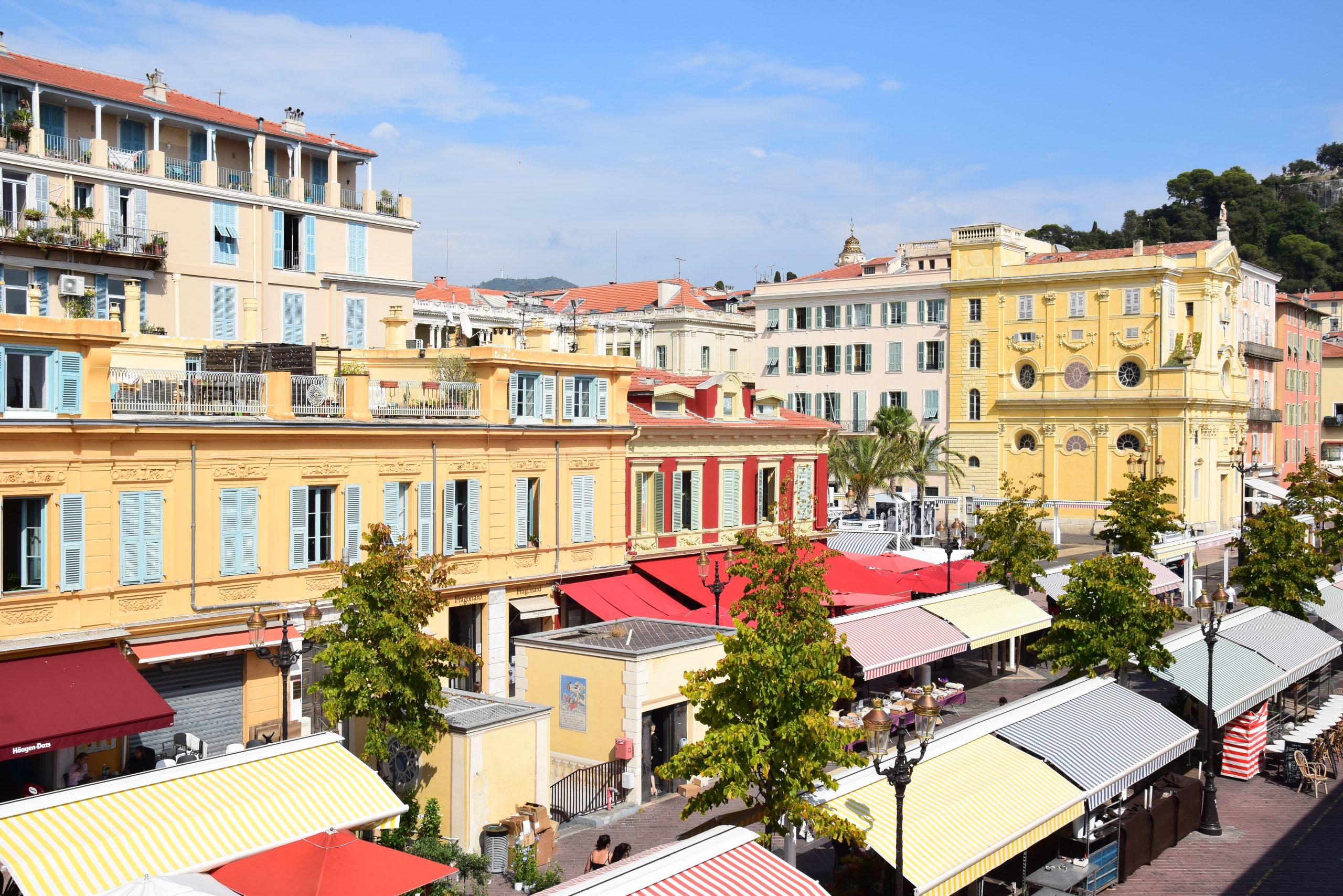 Nizza. Il mercato di Cours Saleya