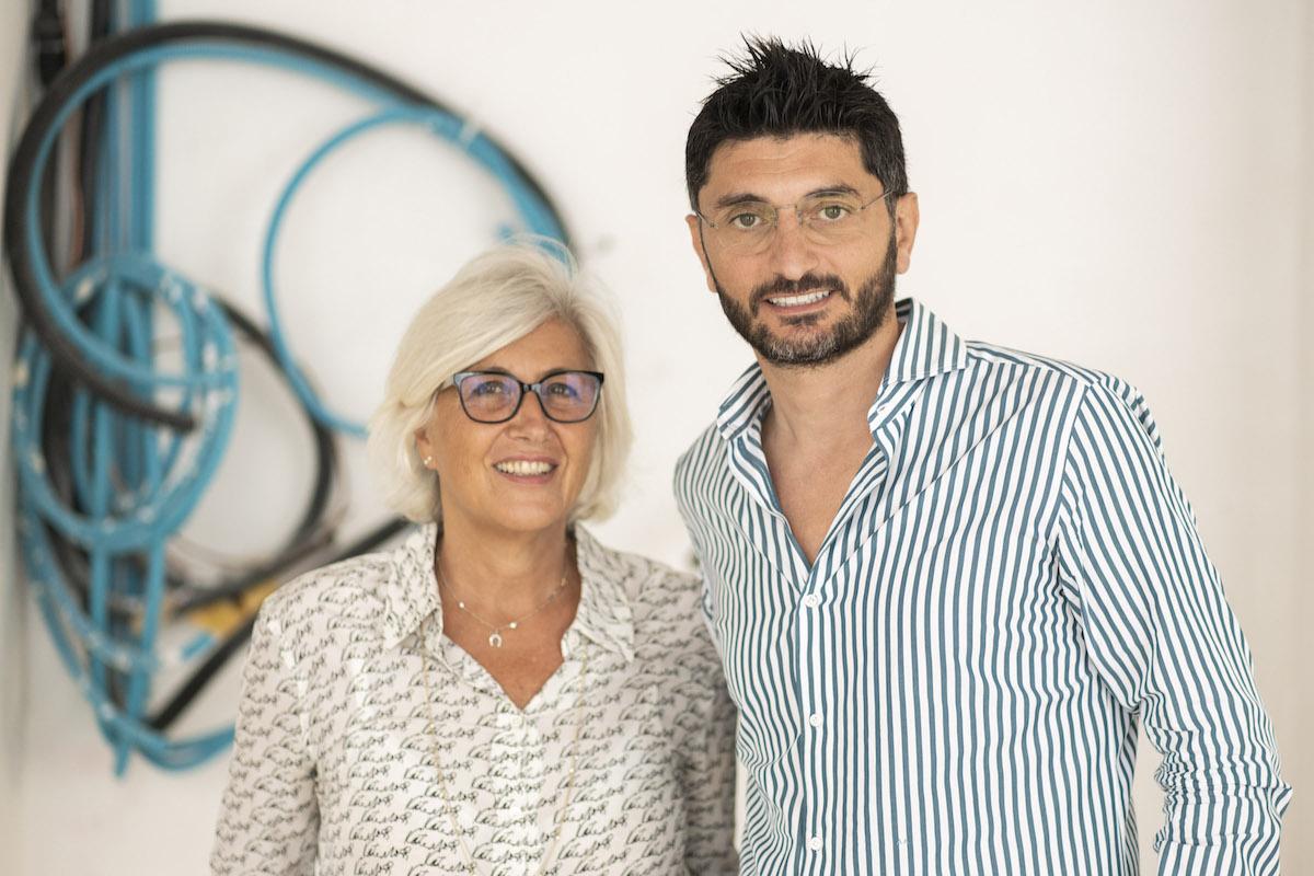 Giovanna Forlanelli Rovati e Andrea Aprea - Credits Daniele Portanome per Fondazione Luigi Rovati (1)
