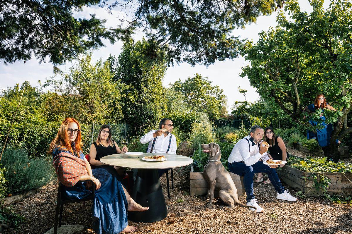 La Famiglia Mazzucchelli, giardino e orto