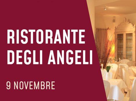 Ristorante degli Angeli - Magliano Sabina (RI) - 9 novembre 2021