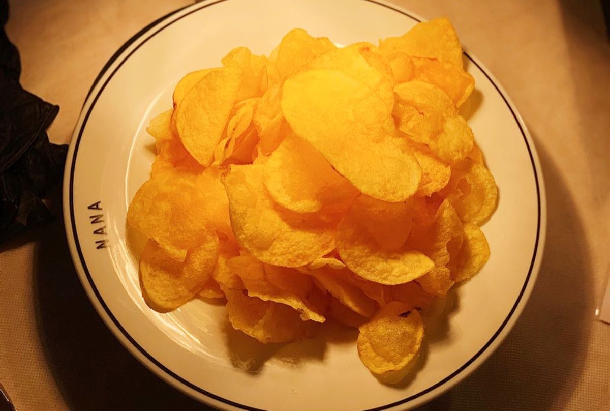 Patatas Nana di Morgan. Le patatine made in Senigallia incontrano la famosa giardiniera veneta
