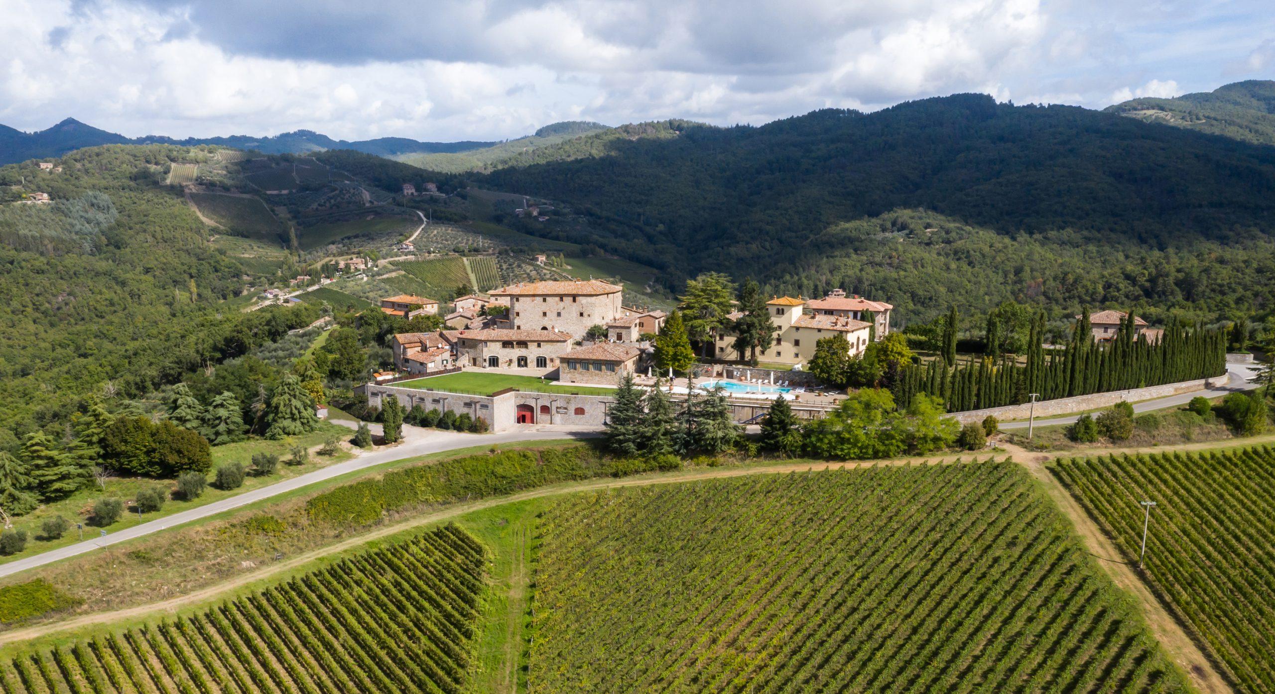 Le colline del Chianti Classico nei calici di Rocca di Castagnoli