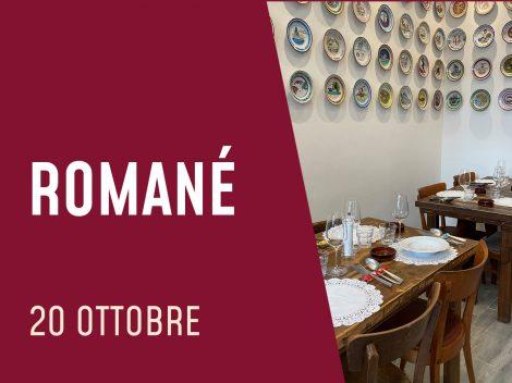 Romanè - Roma  - 20 ottobre 2021