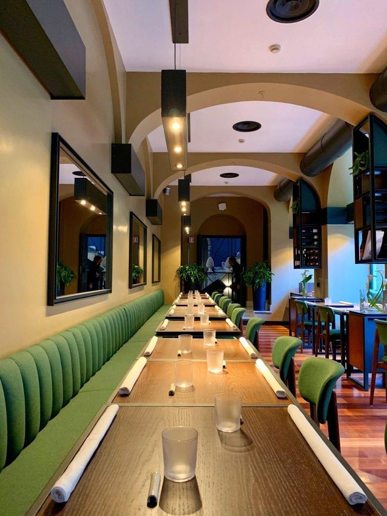 Jacopa. la sala ristorante