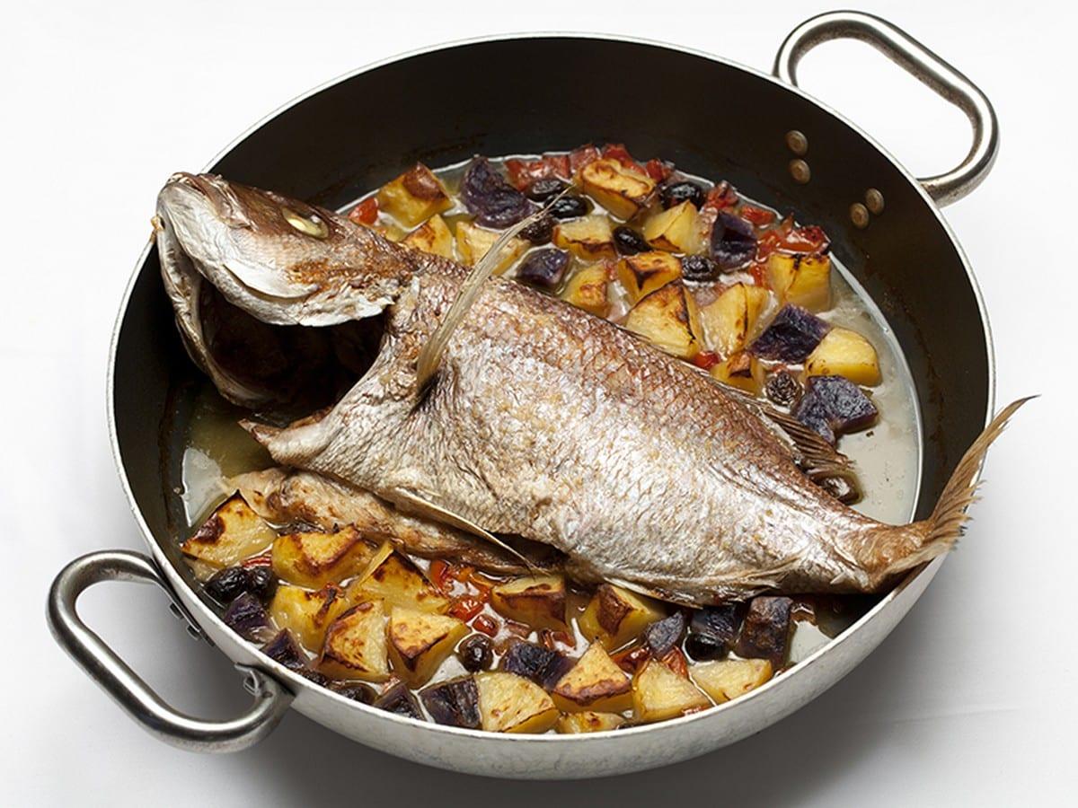 Antonio e Rita. Pesce al forno