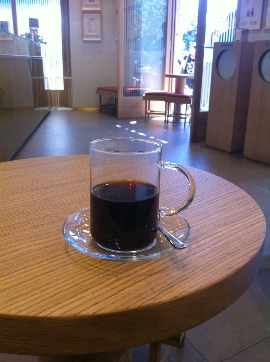 Out of the box, caffè filtro