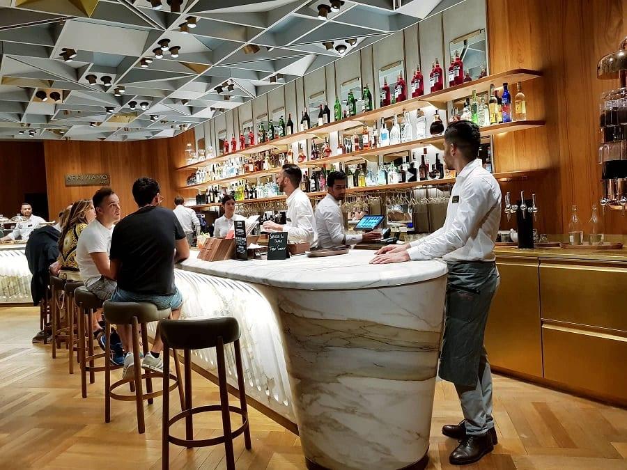 starbucks milano cocktail bar