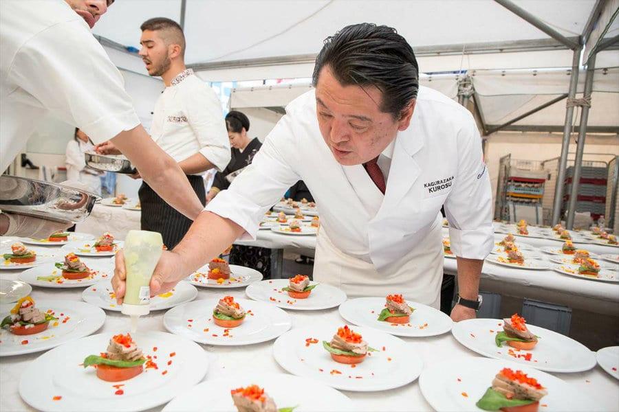 Girotonno 2016, chef Kurosu