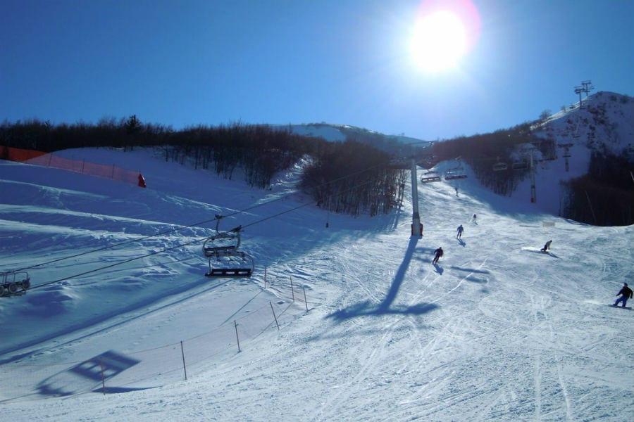 Ovindoli, piste da sci