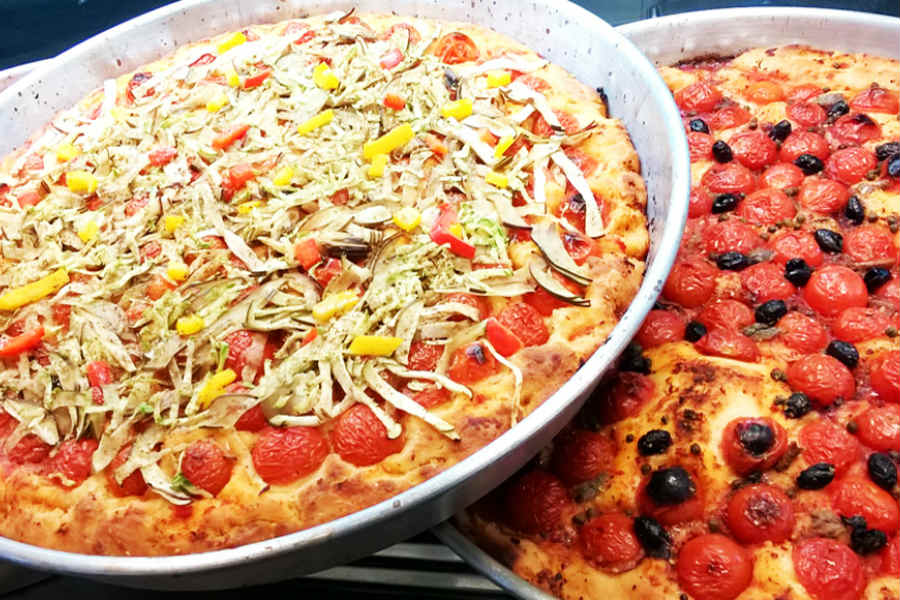 Puddica brindisina - foto di pizzeria Al Mulino