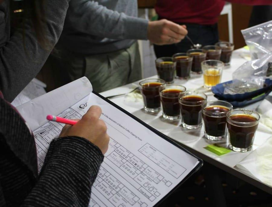 Sensory: assaggio del caffè