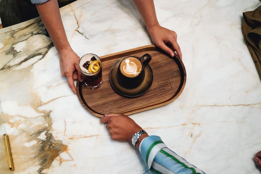 Starbucks, cappuccino