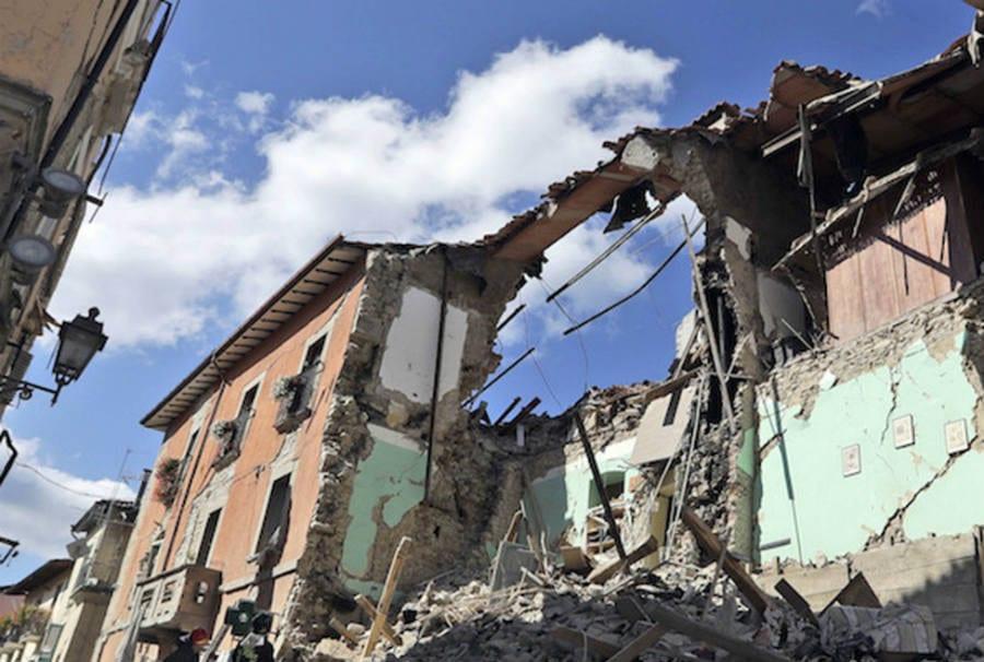 Amatrice post terremoto