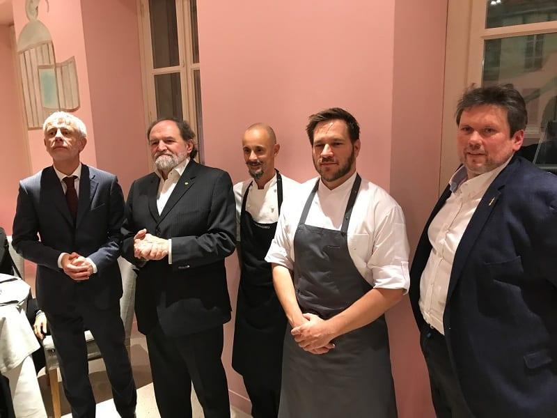 Italia e Ungheria, unite in cucina nel segno di Bocuse. Ad Alba, con Enrico Crippa e Tamás Széll