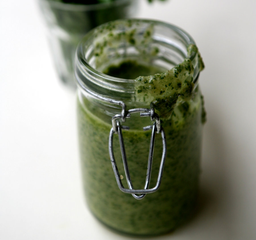 Barottolo di Bagnèt verd (Salsa verde)