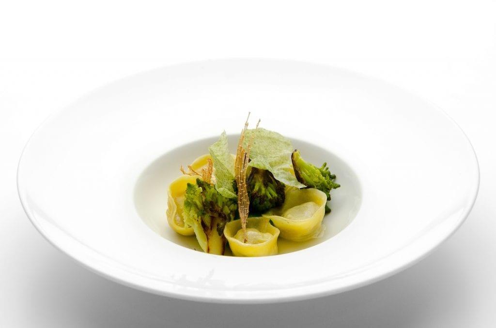 Bikini un piatto: i ravioli broccolo e razzaa