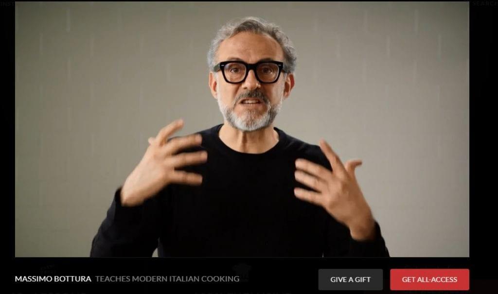 Videoricette di Massimo Bottura: lo chef insegna