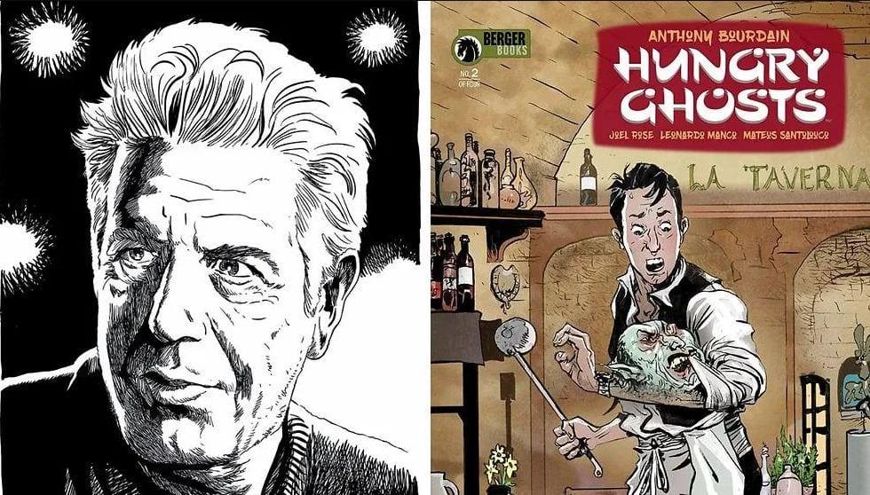 Anthony Bourdain e il fumetto Hungry Ghosts