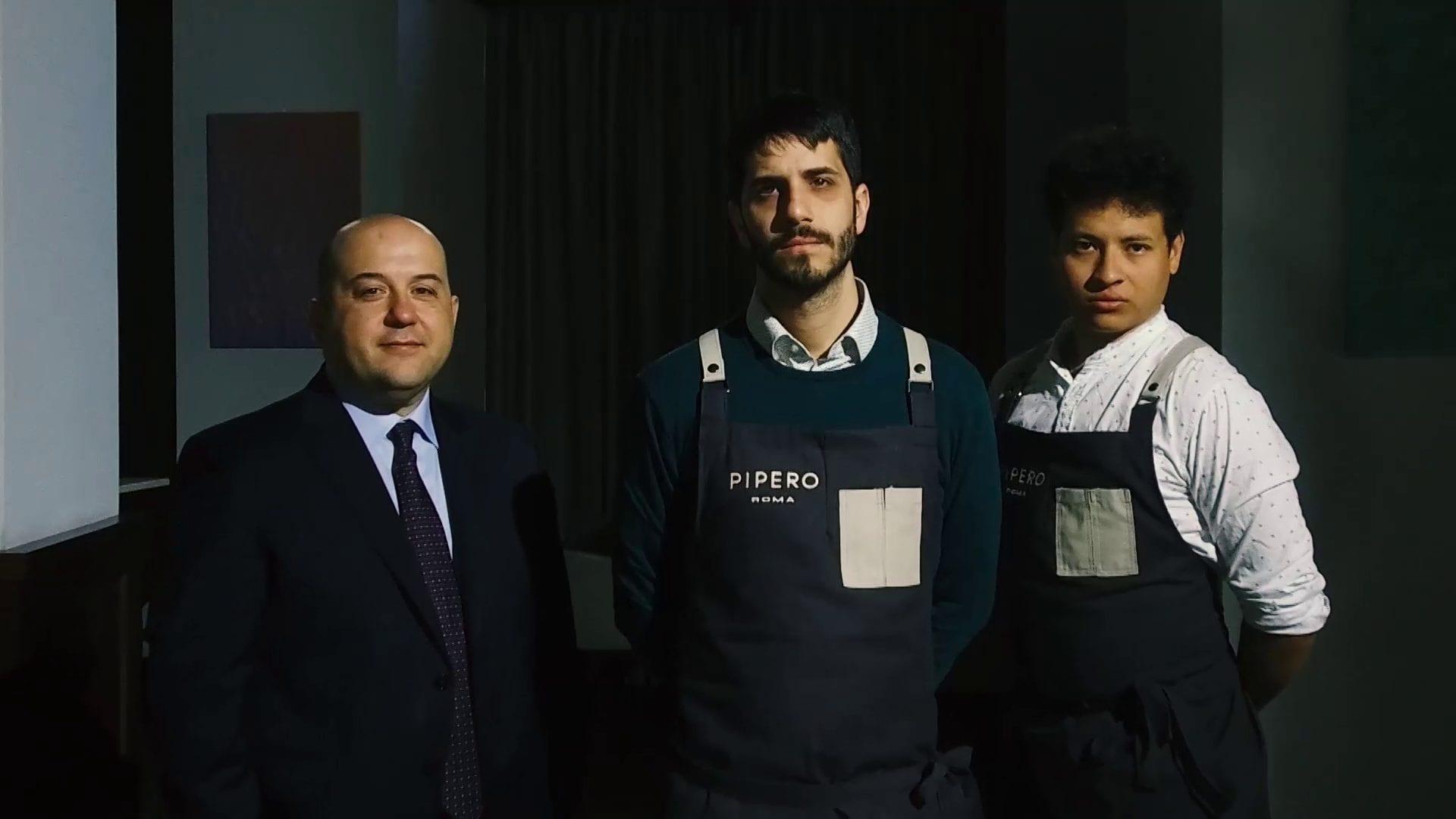 Cambio menu con Ciro Scamardella