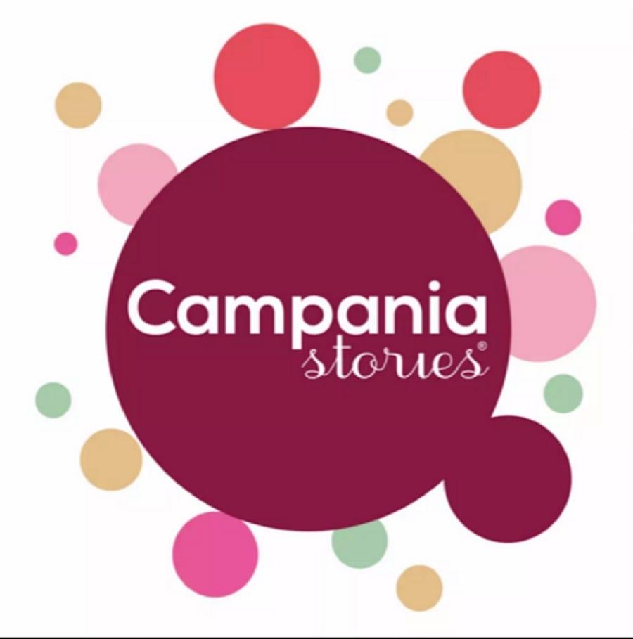 Il logo della manifestazione Campania Stories