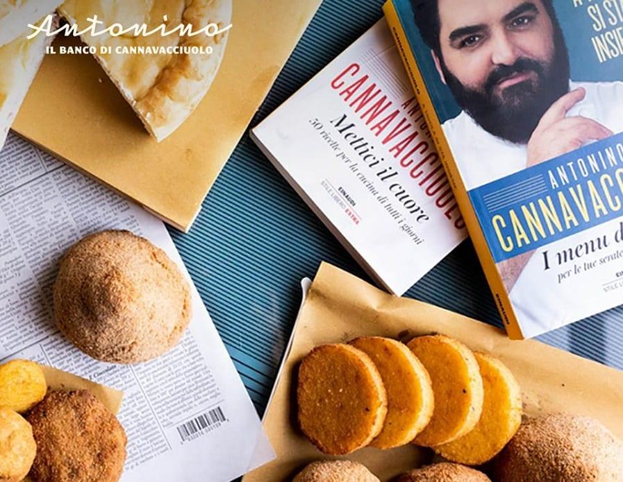 I fritti e i libri di Antonino Cannavacciuolo