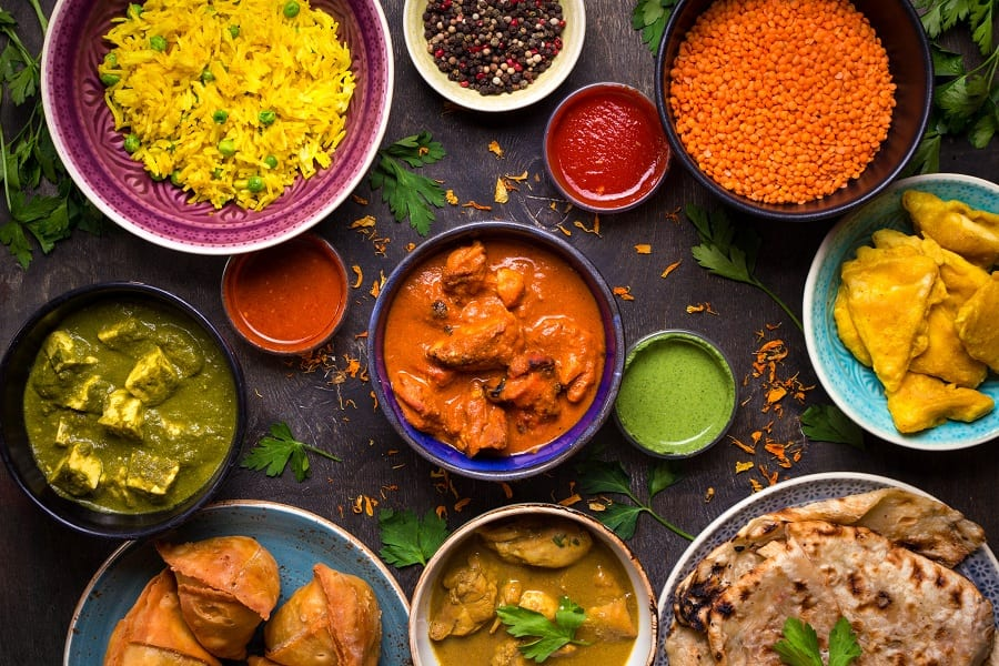 Piatti di cucina etnica