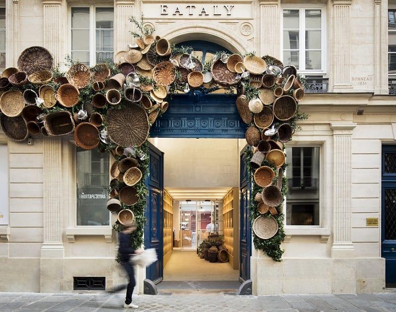 L'ingresso di Eataly a Parigi