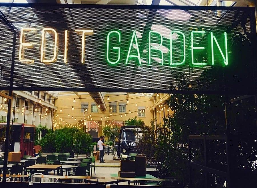 Il giardino di Edit a Torino