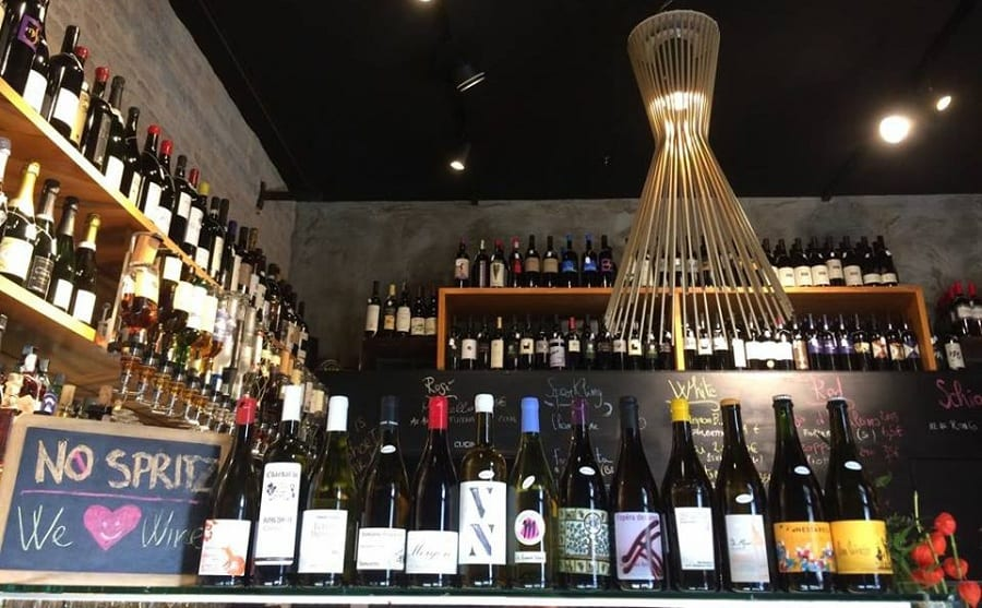 I vini sul banco di Vino Vero