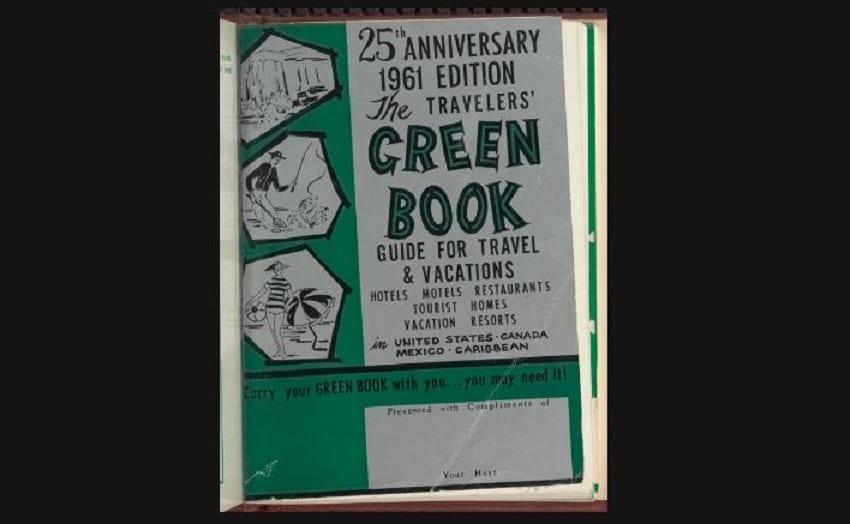 La copertina del Green Book del 1961