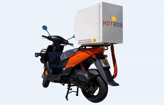 Hotbox Food. Il bauletto che rivoluziona la consegna a domicilio dei cibi caldi