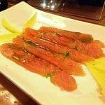 salmone selvaggio e mango