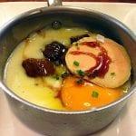 uovo crema patate funghi e foie gras