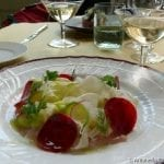 Crudo di pesce del Tirreno e piccole verdure_LR