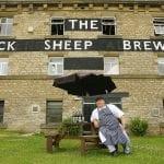 Derek Ballantine lo chef del Black Sheep Bistrot il beer-restaurant del birrificio di Masham in nord Yorkshire