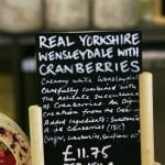 Formaggi della Wensleydale Creamery caseificio di Hawe in nord Yorkshire 2